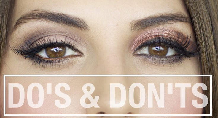 100 Makeup Do's and Don'ts