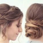 Hair Tutorial: Easy Braided Updo Hairstyle