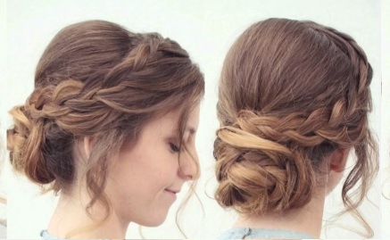 Hair Tutorial: Easy Braided Updo Hairstyle