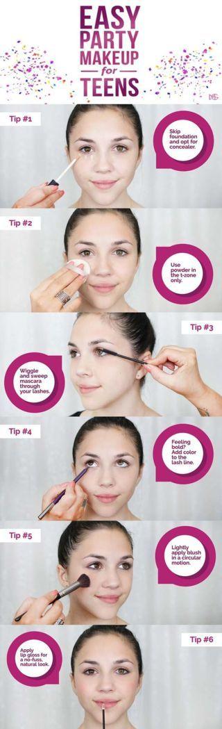 5 Easy Makeup Tutorials for Teens
