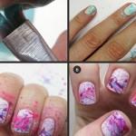 Splatter Nail Art Tutorial