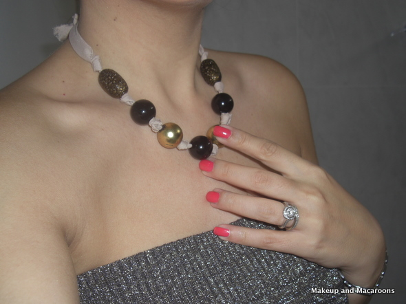 DIY bead necklace in 5 easy steps 01