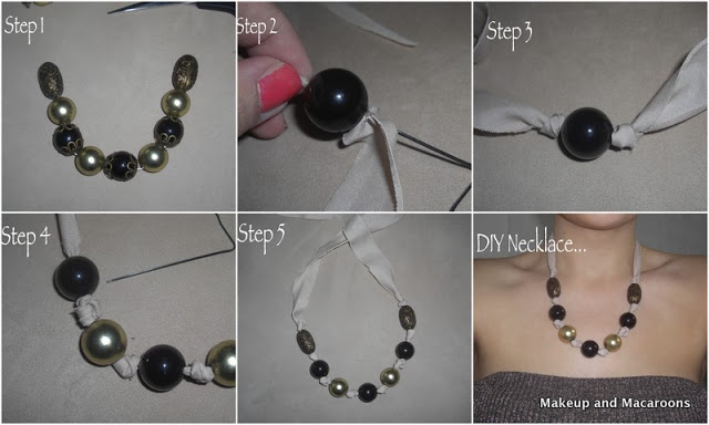 DIY bead necklace in 5 easy steps 03