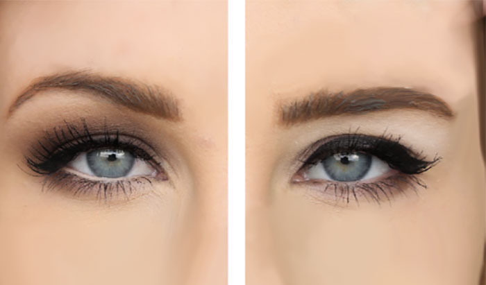 Eye Makeup for Sagging Eyelids
