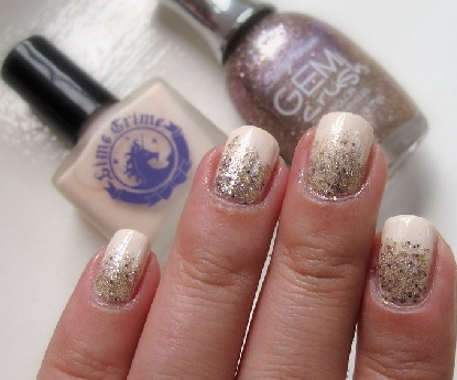 Gradient glitter nails in 4 easy steps 05