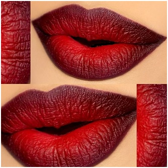 How To Get Hot Ombre Lips 05