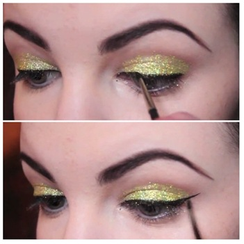 How To Use Glitter Makeup 06