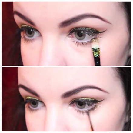 How To Use Glitter Makeup 08