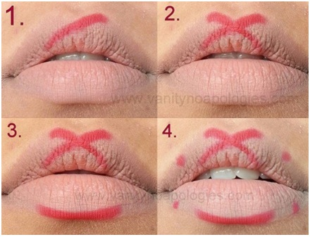 How to Apply Red Lipstick Perfectly 01