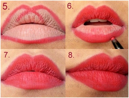 How to Apply Red Lipstick Perfectly 02