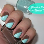Mint chocolate nails – NOTD Tutorial