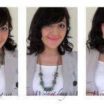 Refashion a short necklace – DIY beauty