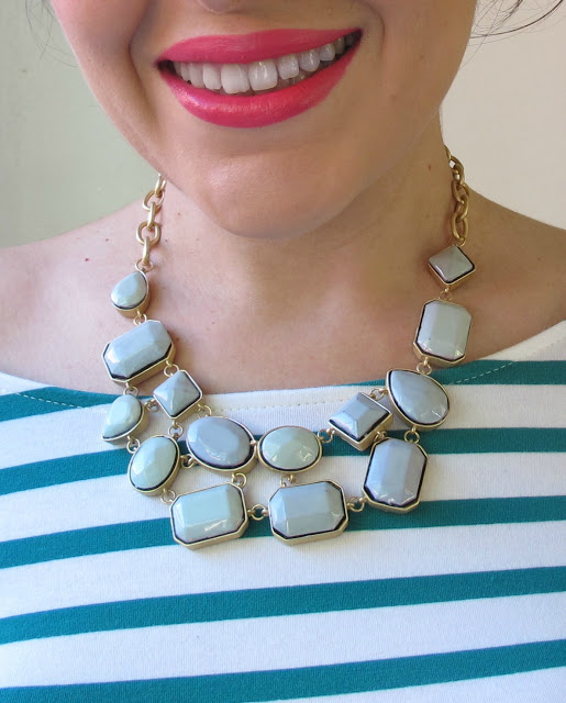Revamp an old necklace with nail polish