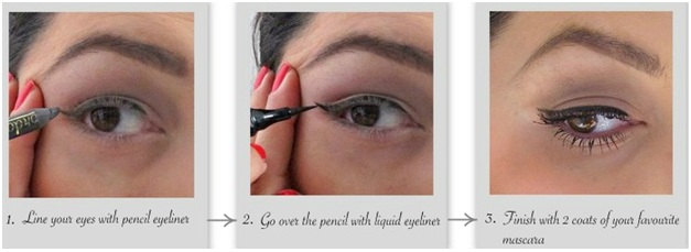 How to fake your way to perfectly lined eyes