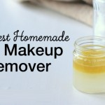Homemade Eye Makeup Remover