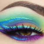 How to apply fantasy eye makeup