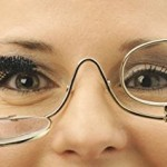 Magnifying Eye Makeup Glasses