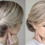 How To: Easy Messy Updo hair