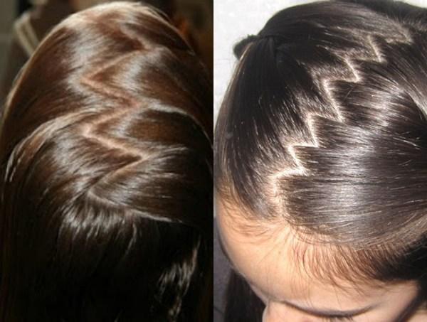 How to Zig Zag Braid Hair