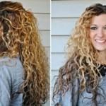 Scrunching Hair