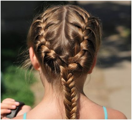 Simple Side Braided Hairstyle 02