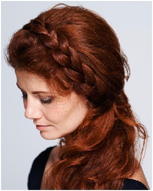 Simple Side Braided Hairstyle 03