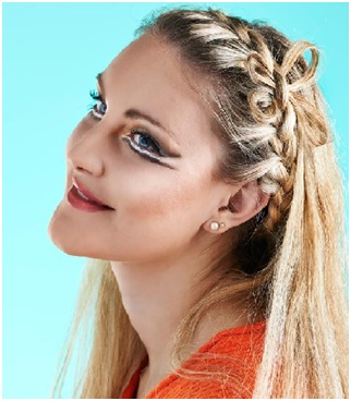 Simple Side Braided Hairstyle 05