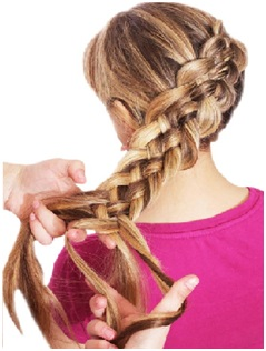 Simple Side Braided Hairstyle 06